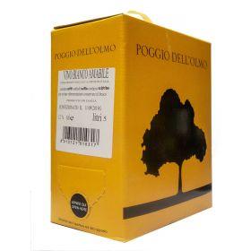 Bag In box vino bianco amabile 5 litri - CONFEZIONE 4 BIB