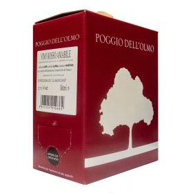 Bag In box vino rosso amabile 5 litri  - CONFEZIONE 4 BIB
